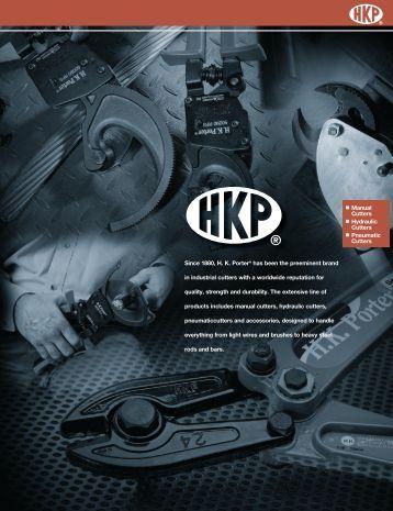 Manual Cutters Hydraulic Cutters Pneumatic Cutters Since 1880 ...