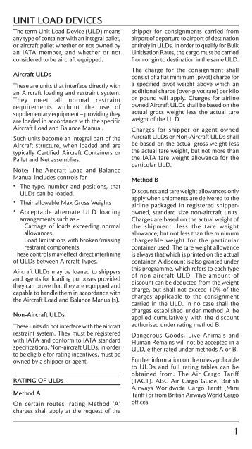 Ground Handling Charges : Ground handling charges united kingdom british airways