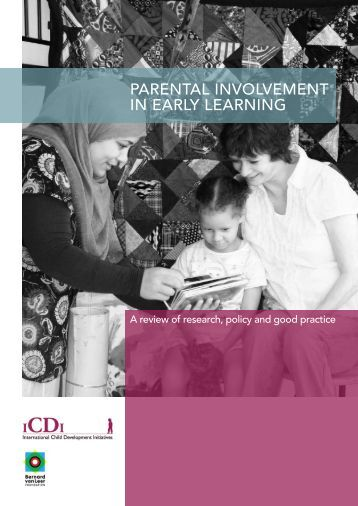 dissertation on parental involvement in early years Encouraging parent involvement at home through improved  dissertations/ theses masters theses  child development early childhood education  early.