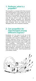 propeller performance - McCauley Propeller Systems - Textron - Page 3
