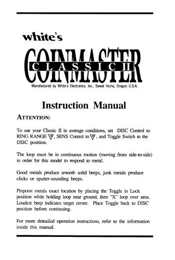 spectrum xlt instruction manual pdf