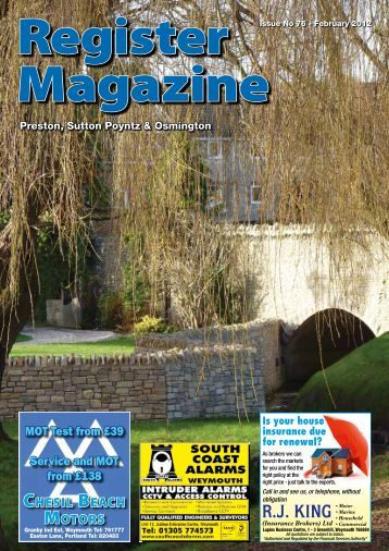 Issue No 76 Feb 2012 - Register Magazine