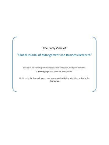 global journal of business research Browse and read global journal of business research global journal of business research bring home now the book enpdfd global journal of business research to be your.