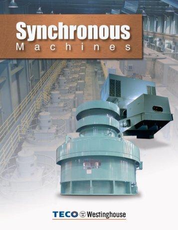 Synchronous Brochure - TECO-Westinghouse Motor Company