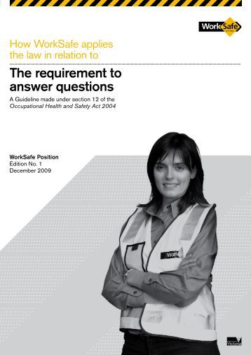 how to answer questions police victoria
