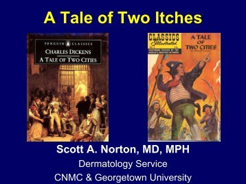 A Tale of Two Itches - Children's National Medical Center