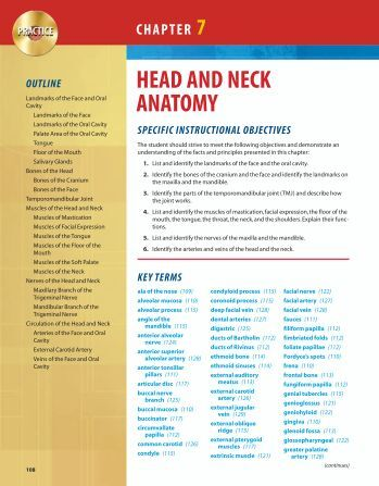 head and neck anatomy learning guide Head and neck anatomy for dental medicine is a regionally organized, single-volume atlas of human anatomy the text uses and expands on material found in the 3.