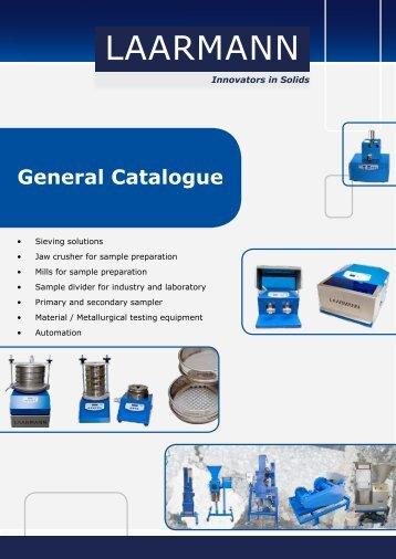 general catalogue of LAARMANN