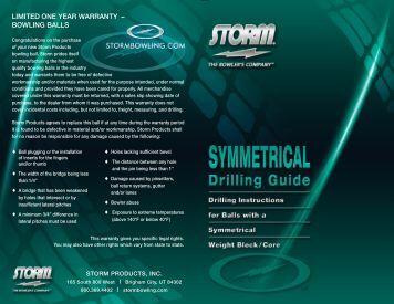 Symmetric Drilling Instructions Columbia 300