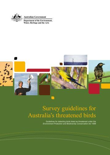 nsw threatened species survey guidelines