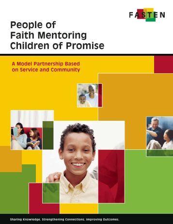 People of Faith Mentoring Children of Promise - FASTEN