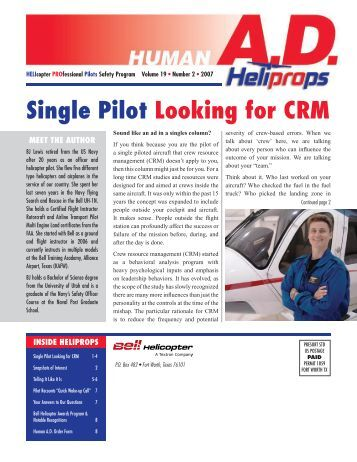 Dating a helicopter pilot