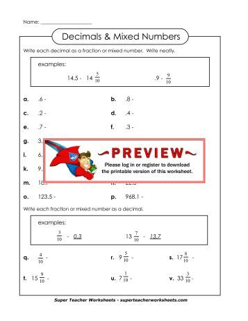 Answers To Super Teacher Worksheets - Delibertad