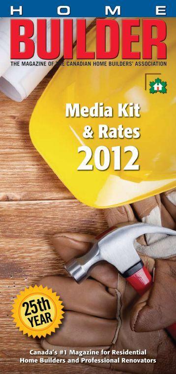 Cgi ratabase product builder for Home builder magazine