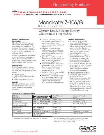 Monokote® Z-106/G - Ncs-stl.com