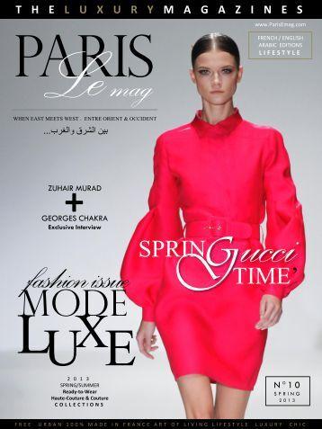 ParisLeMag N°10 - Spring 2013 - TheLuxuryMagazines