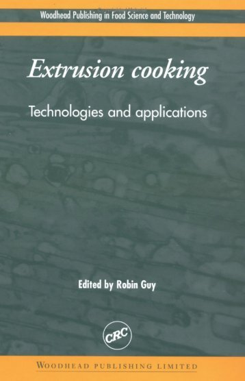 2 Raw materials for extrusion cooking