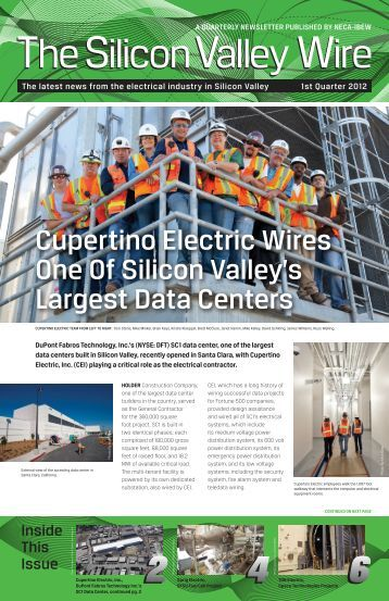 Cupertino Electric Wires One Of Silicon Valley's Largest ... - SCVNECA