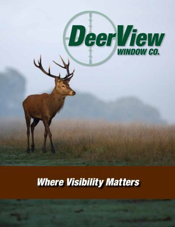 Brochure - Deer View Windows