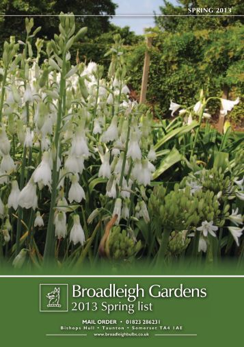 Broadleigh Gardens - Broadleigh Bulbs