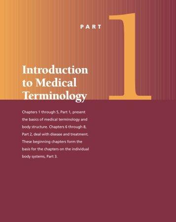 Introduction to Medical Terminology - Frank's Hospital Workshop