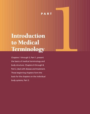 Introduction to Medical Terminology - Frank's Hospital Workshop