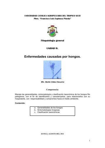 Enfermedades causadas por hongos. - Martín Urbina Chavarría