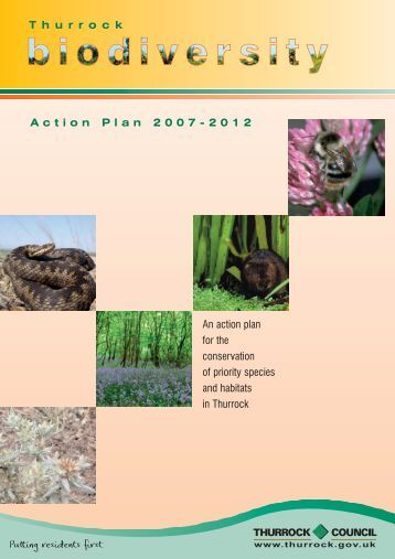 Thurrock Council - Biodiversity Action Plan 2007-2012
