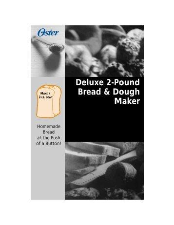 Deluxe 2-Pound Bread & Dough Maker