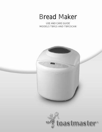 west bend bread machine recipe book