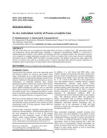 Antioxidant activity, protective effects and absorption of polyphenolic compounds