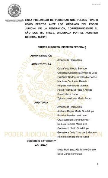 documento - Consejo de la Judicatura Federal
