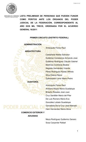 documento - Consejo de la Judicatura Federal