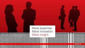 Datacenter Transformation with Oracle Engineered Systems and ...