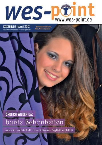 WES-Point Magazin (Ausgabe April 2013)