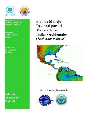 Plan de Manejo Regional para el Manatí de las Indias Occidentales