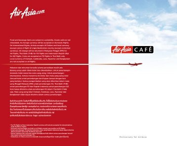 origin/destination - Air Asia
