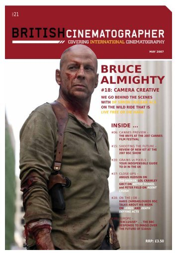 British Cinematographer issue 21 - Imago