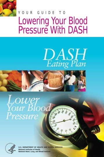 Lowering Your Blood Pressure With DASH