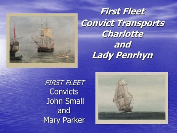 Peoples of the First Fleet 3rd ed.pdf - Vicnet