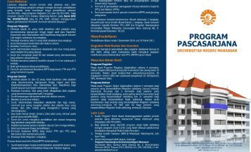 Brosur - PPs UNM - Universitas Negeri Makassar
