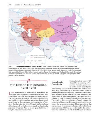 the rise of the power of the mongols A second mongol invasion in 1402 delayed their rise, but in 1453 the ottomans   the power and wealth of the templars aroused the jealousy (and fear) of the.