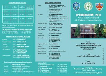 KGH Brochure.pmd - Andhra Pradesh Academy of Forensic Medicine