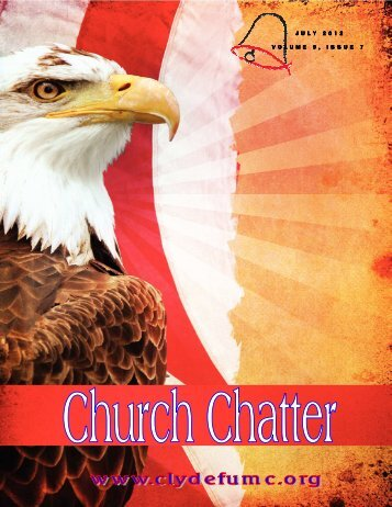July 2012 Newsletter - Clyde First United Methodist Church