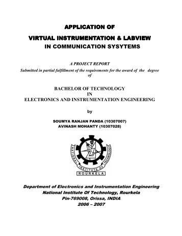 nit rourkela ethesis This thesis aims to analyze soil and shallow foundations of buildings to reach the   dept of civil eng nit rourkela, national institute of technology rourkela.