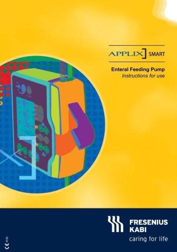 Applix smart pump instructions