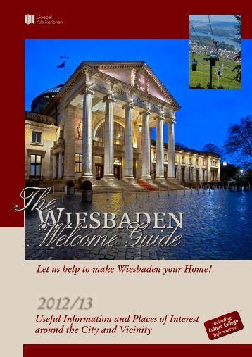 Wiesbaden - The Wiesbaden Welcome Guide
