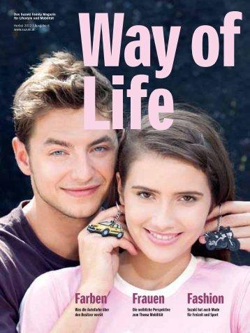 Way of Life Herbst 2014 | Ausgabe 9