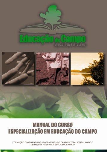 Manual do Curso - centro de educação - ufes