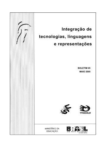 Integração de tecnologias, linguagens e representações - TV Brasil